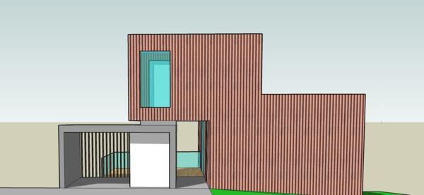 casa A_3D_vista desde el acceso